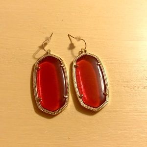 Kendra Scott Earrings Color (Bordeaux)